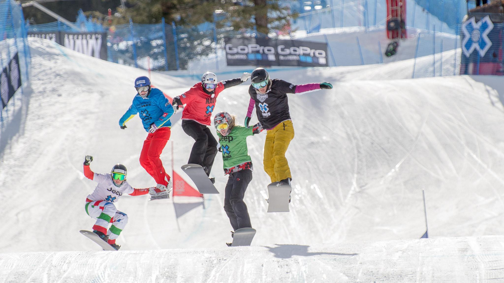 Women's Snowboarder X