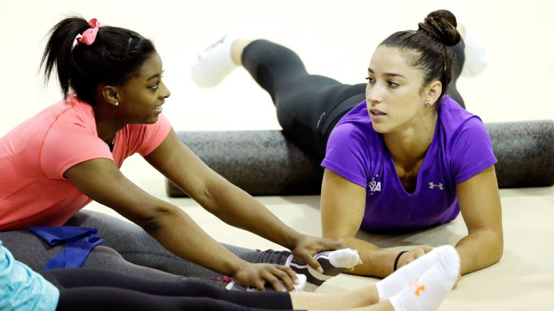 Aly Raisman, and Simone Biles
