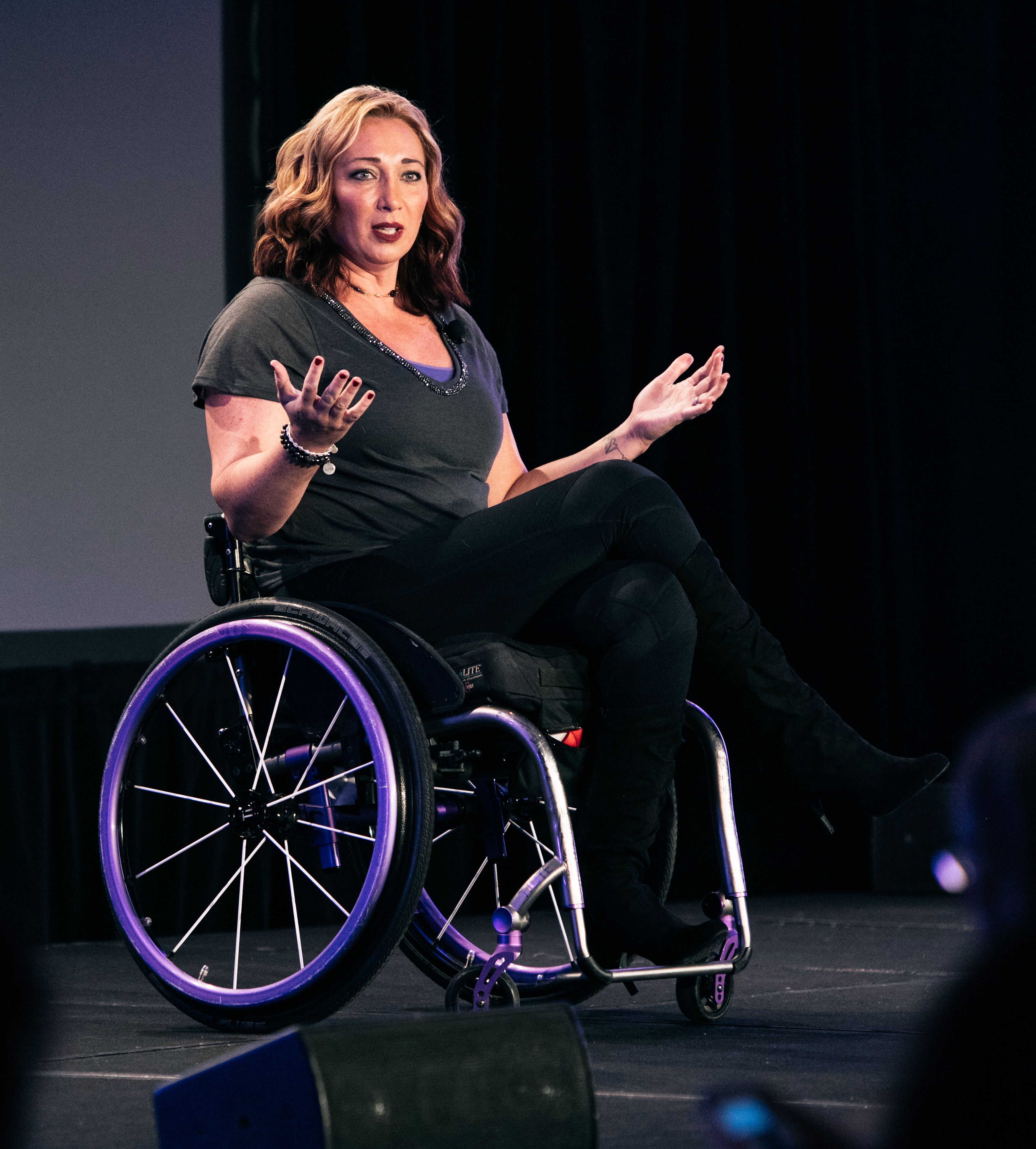 2015 espnW: Women  Sports Summit: Amy Van Dyken
