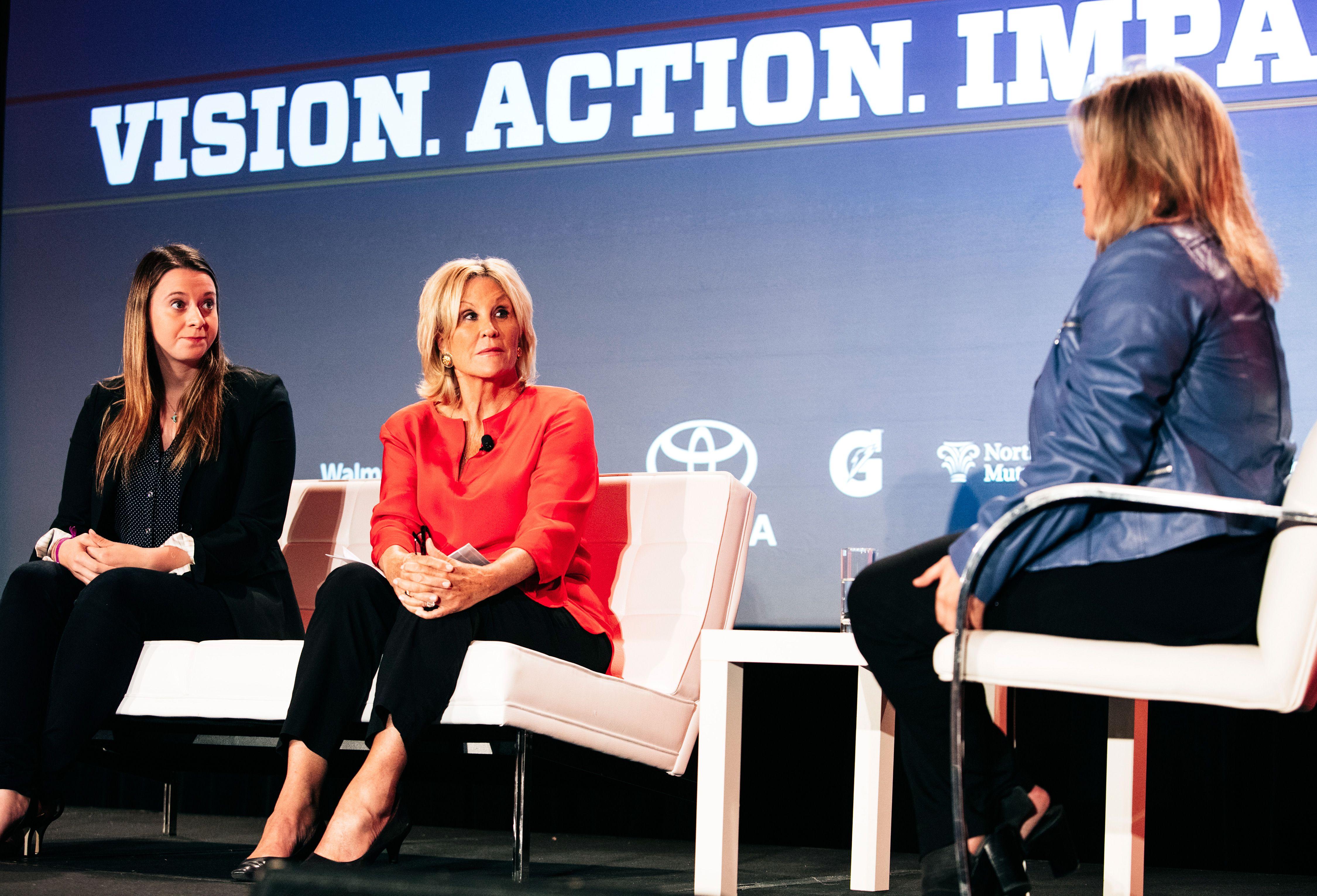 2015 espnW: Women  Sports Summit: Emily Hughes and Donna de Varona