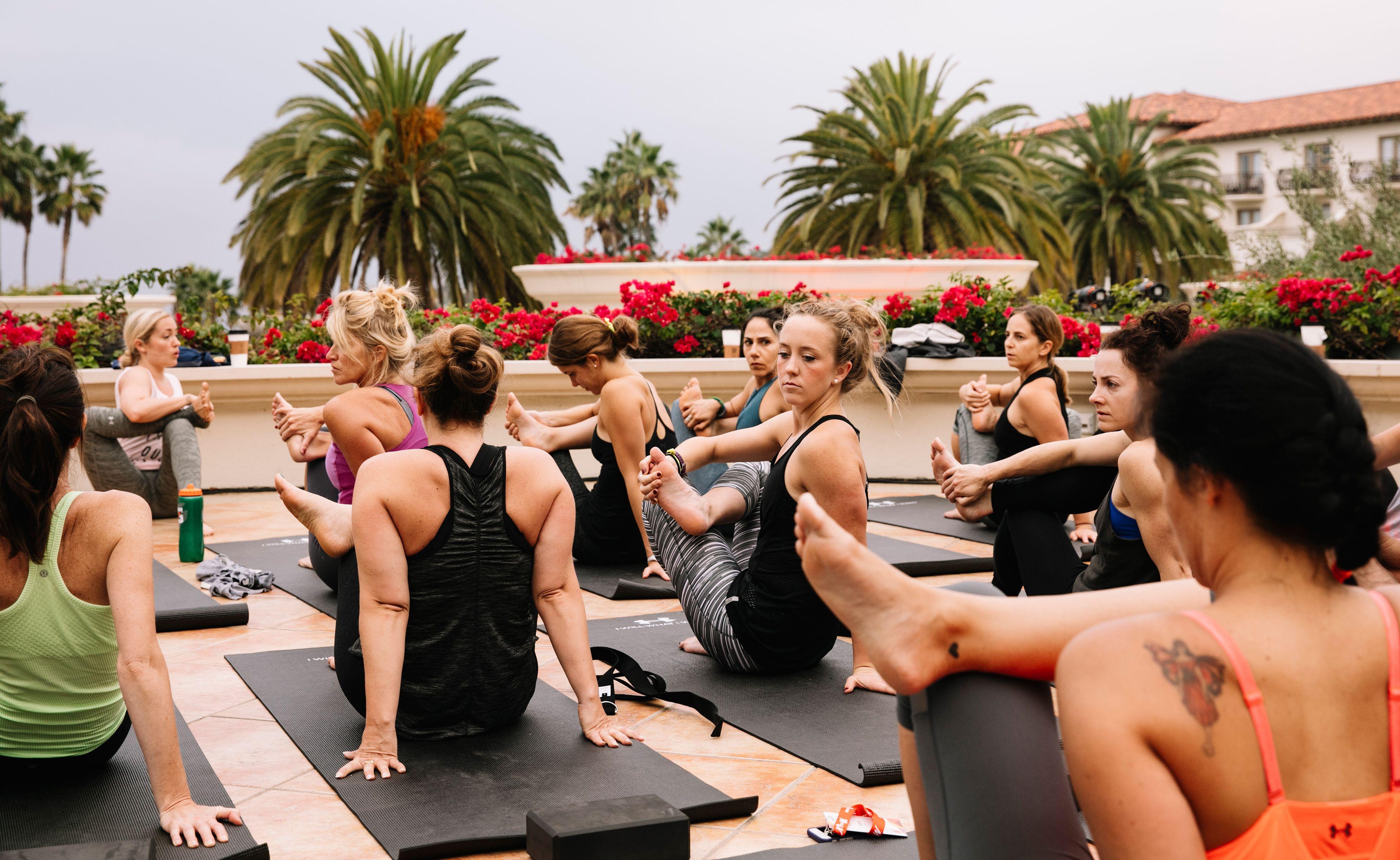 espnW: Women  Sports Summit: Aim True Yoga