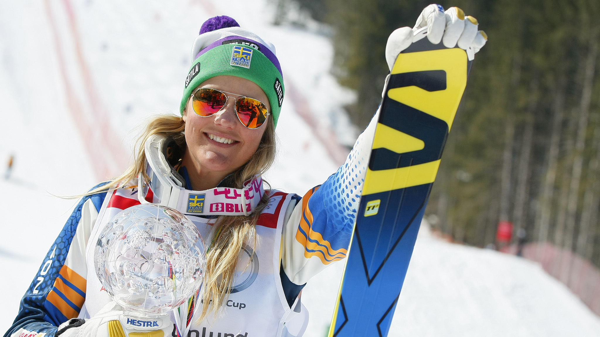 Anna Holmlund, a 28-year-old Swede, will make her X Games debut in 2016's Coors Light Womens Skier X.