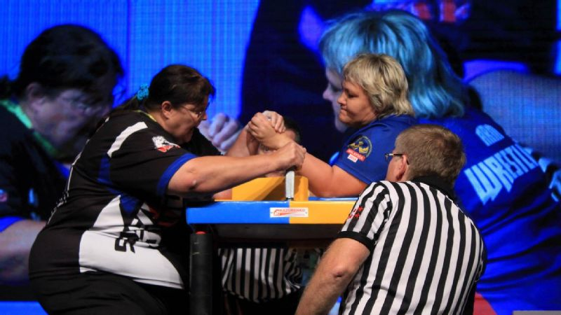 Cathy Merrill Armwrestling