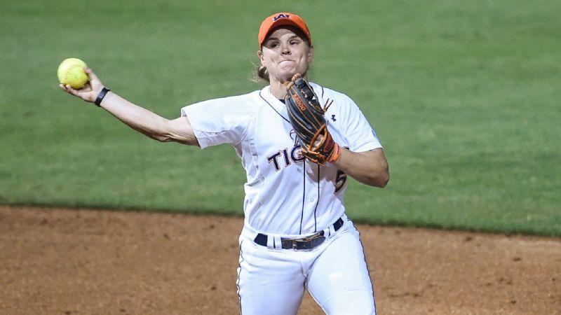 NCAA Softball Emily Carosone