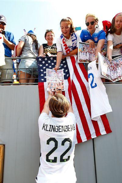 Meghan Klingenberg and fans