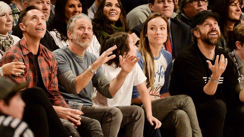 Steve Nash, Jon Stewart, Olivia Wilde, Jason Sudeikis