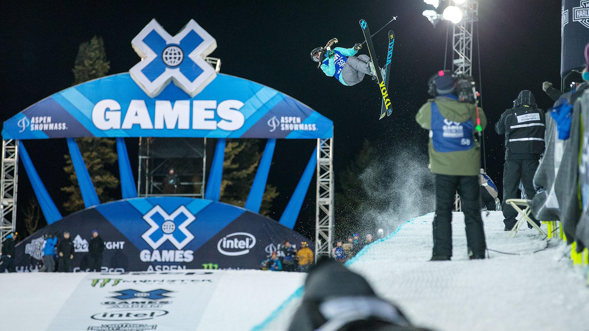 Women's Ski SuperPipe: Maddie Bowman