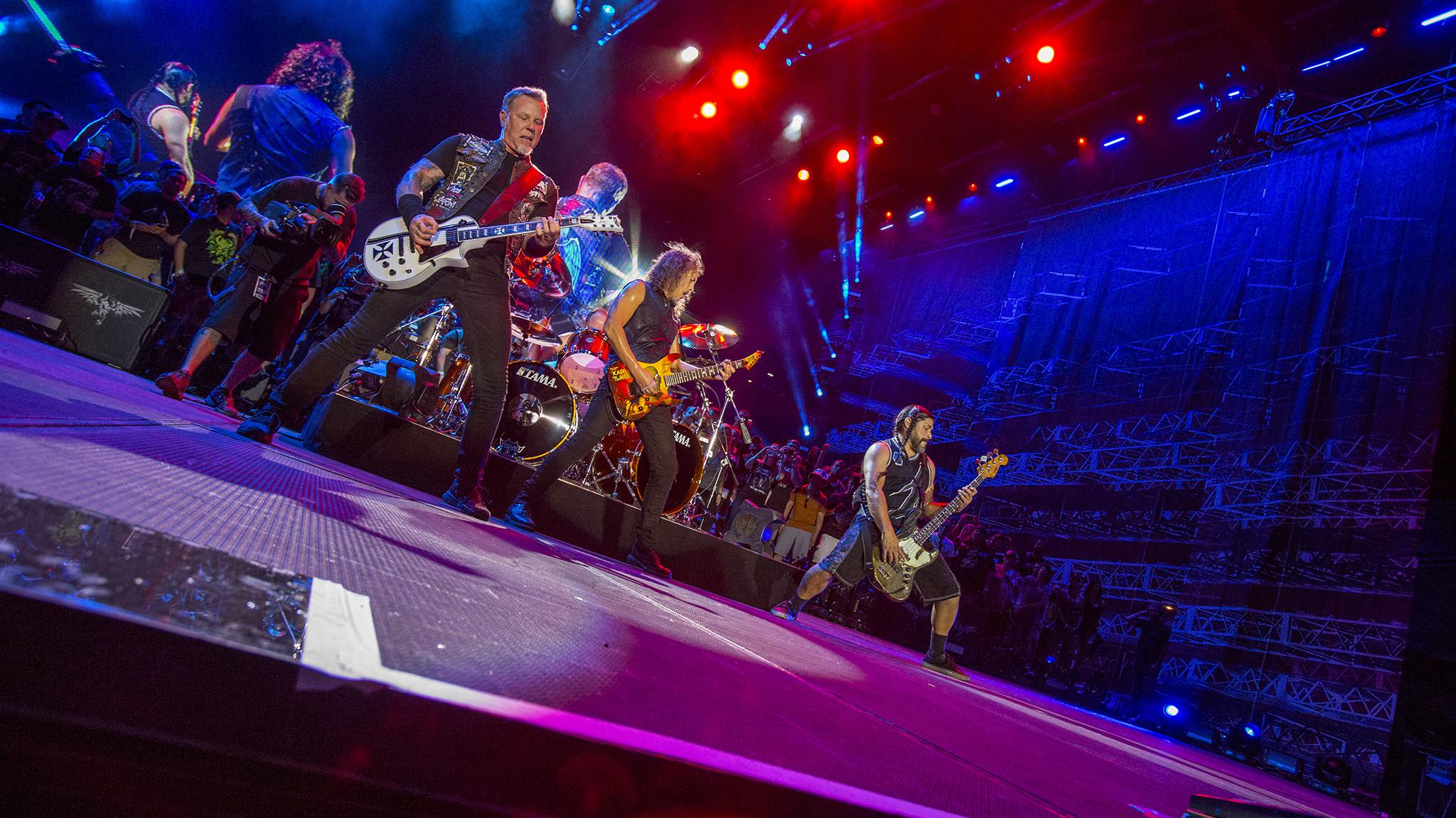Metallica rocks Austin
