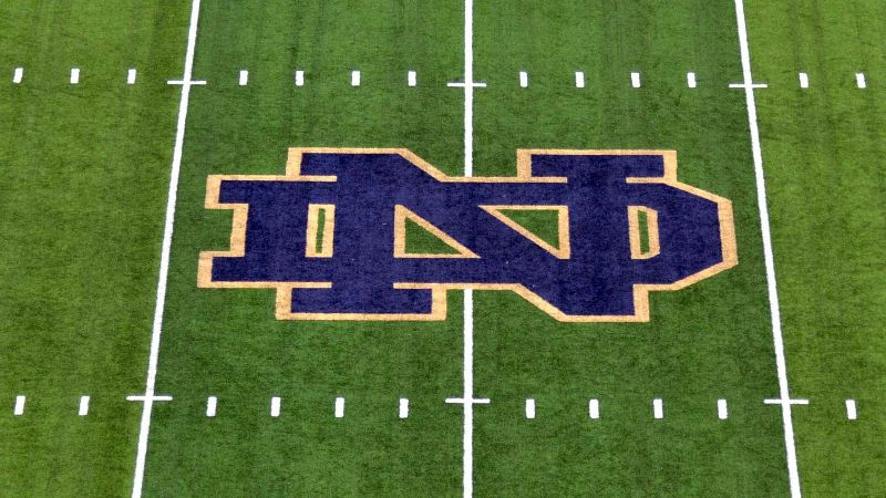 Notre Dame football logo