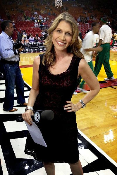Kristen Hewitt has worked as a Fox Sports reporter for the Heat for more than 10 years.