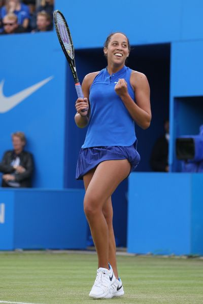 I think if we can show that it happens, maybe we can start taking bigger and better steps to maybe not ending it but making it less prominent, Madison Keys says of online harassment.