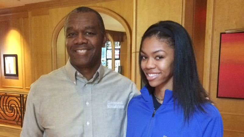 Randall Cunningham has taken many of his training techniques from football and taught them to his daughter. So far, so good.