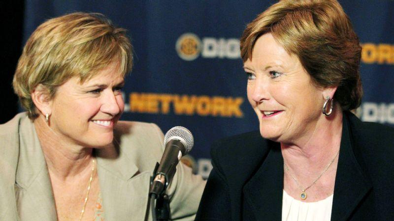 Pat Summitt and Holly Warlick