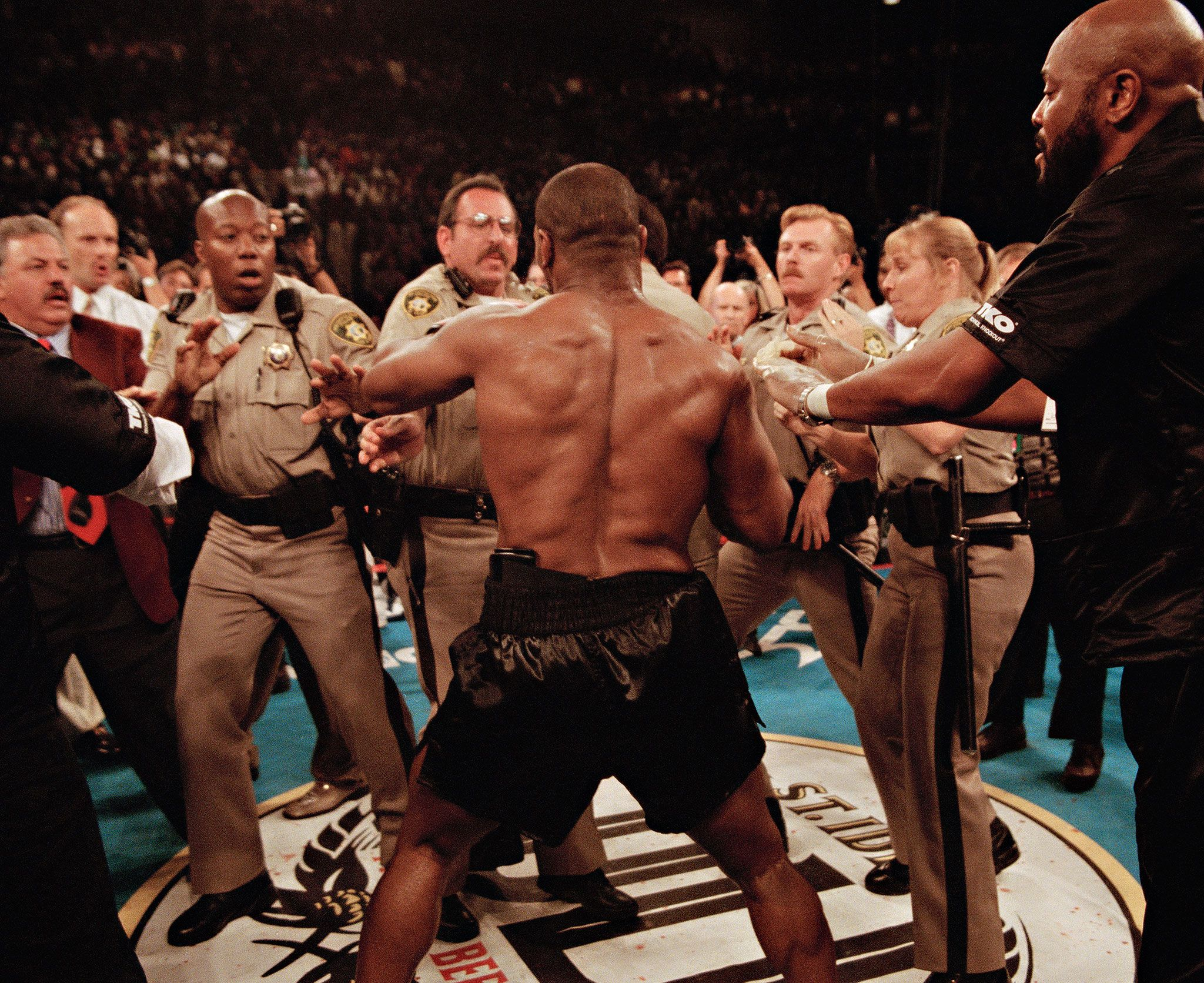 Tyson's ring rampage
