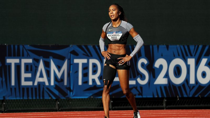 Sanya Richards-Ross, a four-time Olympic gold medalist, pulled up with a hamstring injury during her 400-meter qualifying race Friday, bringing an end to her Olympic career.