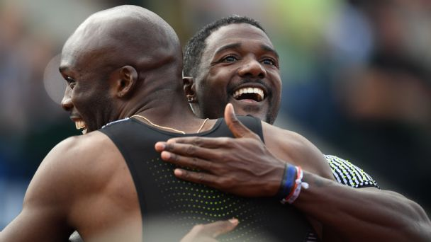 American sprinter Justin Gatlin will be competing in his third Olympic Games.