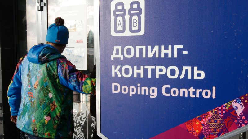 Russian athletes have been under scrutiny for doping.