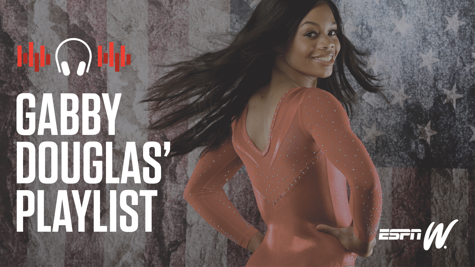 Spotify Athlete Playlist - Gabby Douglas