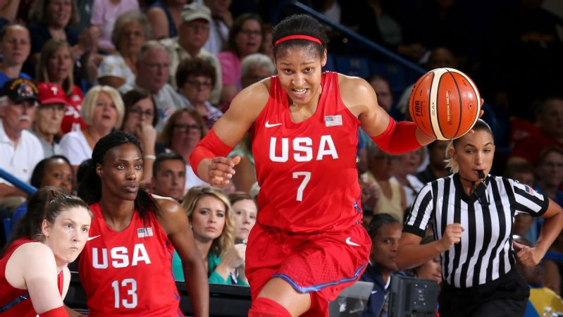 Maya Moore (Team USA vs. France exhibition)