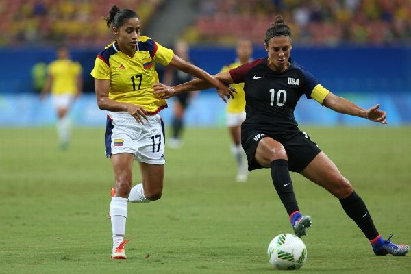 USWNT vs Colombia