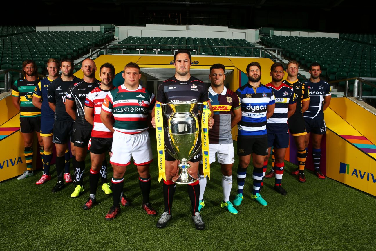 The Aviva Premiership gets underway on Friday -- and we asked you to vote for your favourite kits for the 2016-17 season. Here are the results, starting with the team that finished in 12th...