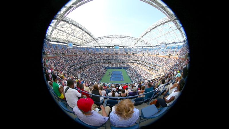 Serena Williams says playing in a venue with Arthur Ashe's name on it elevates everything.