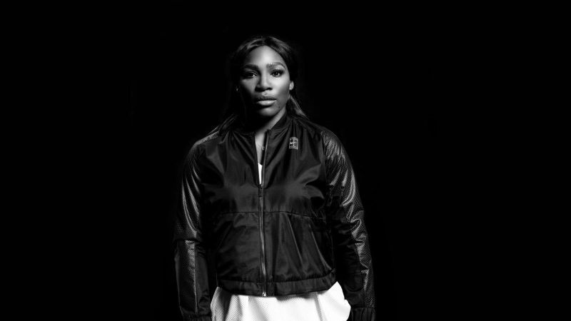 When the evening chill hits Arthur Ashe Stadium, Nike has Serena covered.