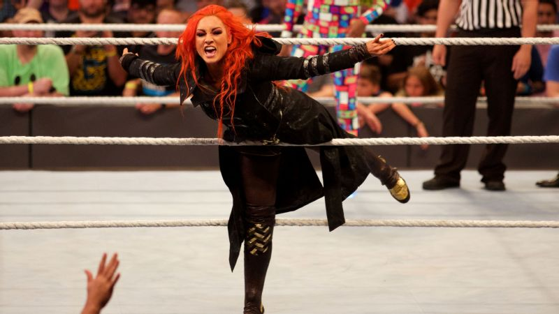 Becky Lynch has become a popular character with fans since moving up to the main WWE roster from NXT.
