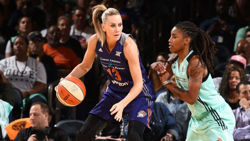 Phoenix's Penny Taylor (playoffs vs Liberty)