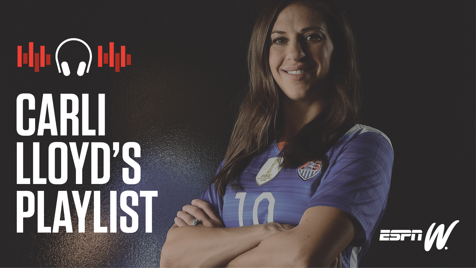 Spotify Athlete Playlist - Carli Lloyd