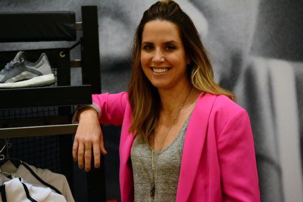 Kelly Olmstead, Adidas' vice president of brand activation, is responsible for marketing communications, advertising and retail experience, among other responsibilities.