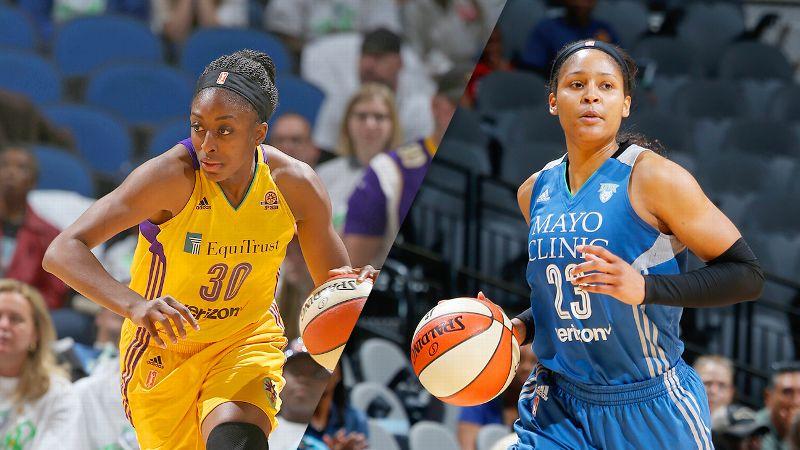 Nneka Ogwumike and Maya Moore