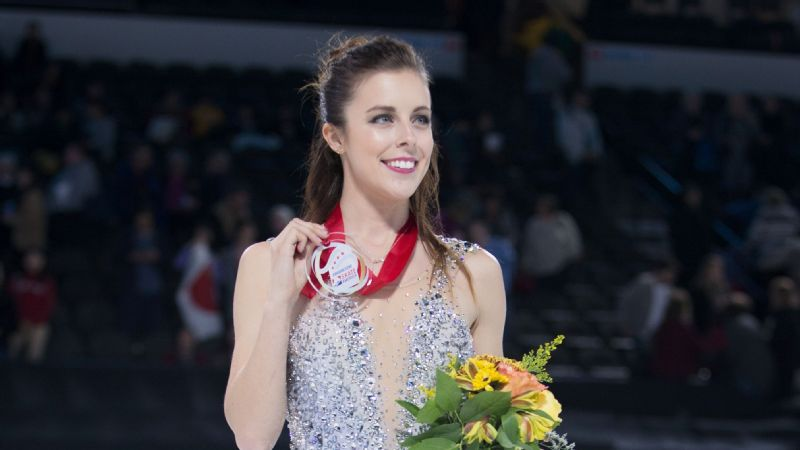 Ashley Wagner topped her California training partner Mariah Bell to win her second Skate America title in five seasons.