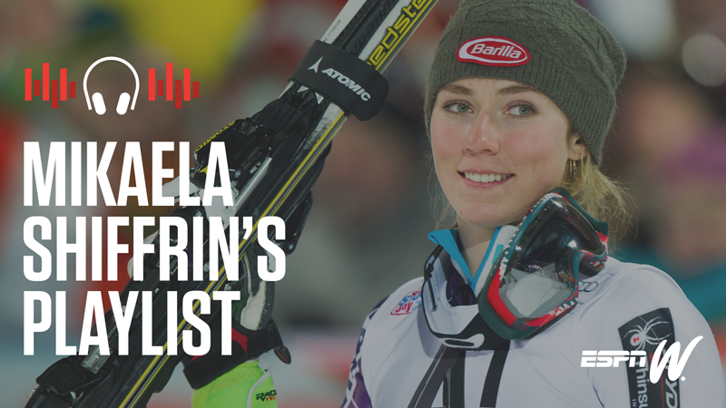 Spotify Athlete Playlist - Mikaela Shiffrin