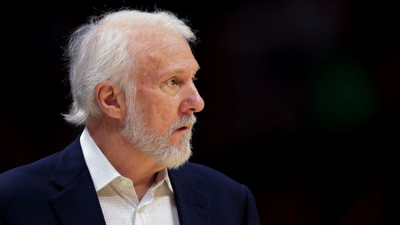 Spurs coach Gregg Popovich doesn't hold back on his political beliefs.