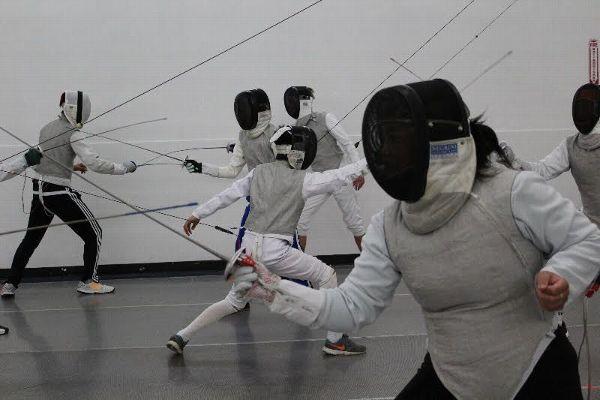 Karen Lieu fencing