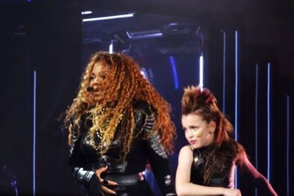Taylor Hatala performed with Janet Jackson on the singer's Unbreakable World Tour.