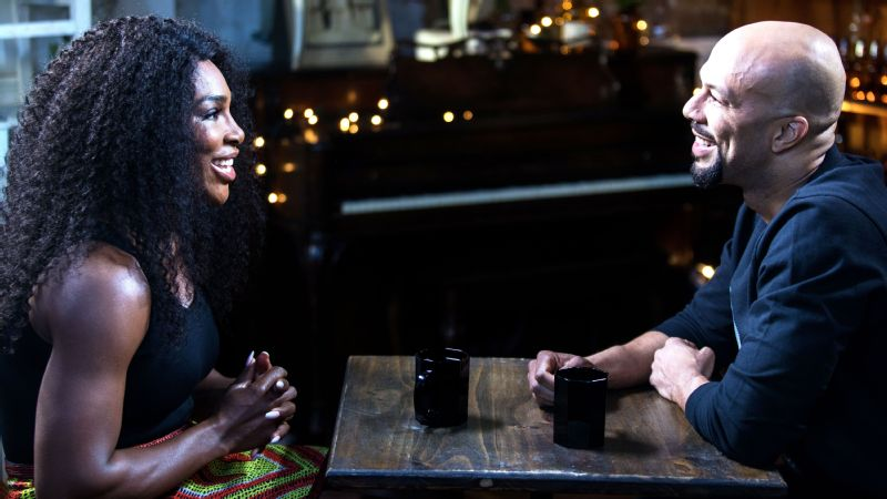 Rapper, actor and activist Common interviewed Serena Williams for The Undefeated.