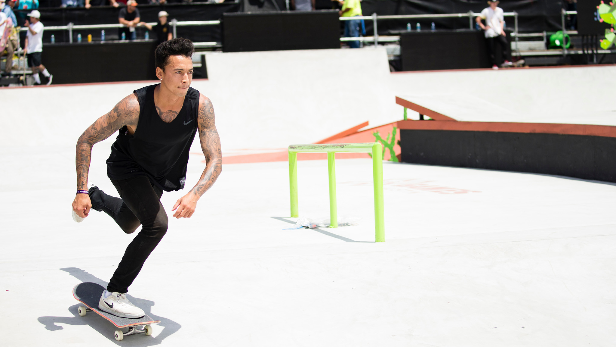 Nyjah Huston joins Nike SB