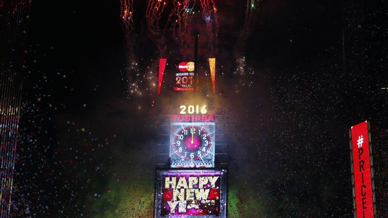 2016 ball drop