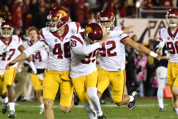 USC kicker booted, despite girlfriend's claim of no wrongdoing