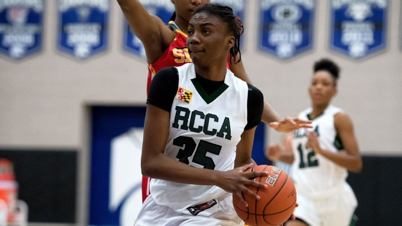 Anissa Rivera and Rock Creek Christian took on the nation's best last month at the Nike Tournament of Champions.