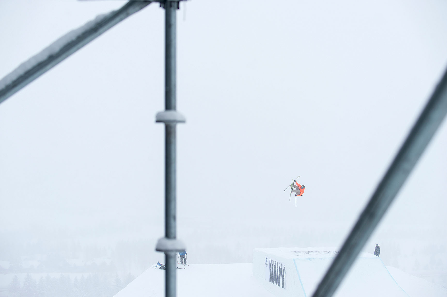 Alex Beaulieu-Marchand, Ski Slopestyle practice