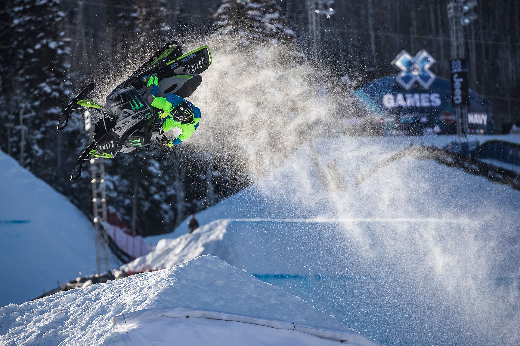 Cory Davis, Snowmobile Freestyle