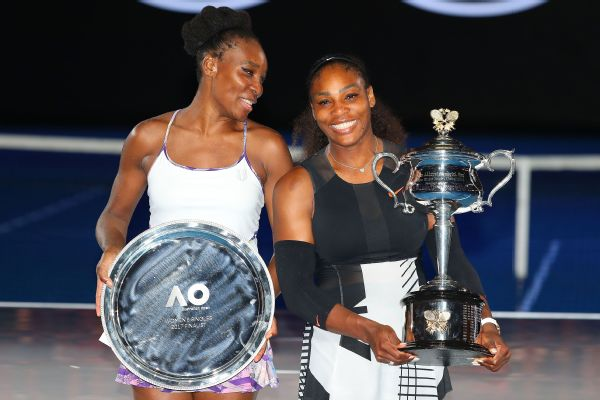 Venus Williams faced sister Serena in the Australian Open final in January.