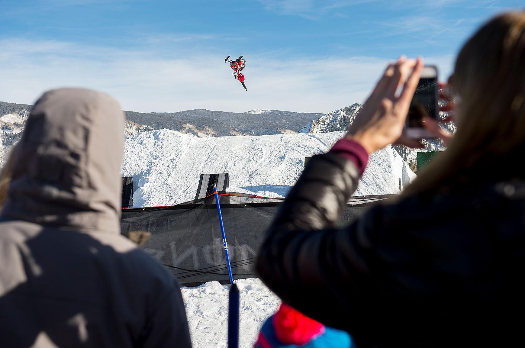 Daniel Bodin, Snowmobile Best Trick