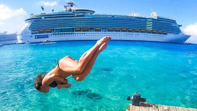 Sydney Brown has spent the last six years as a cruise-ship performer -- a job full of nonstop travel and two shows a day at sea -- but it's the perfect fit for a former gymnast.