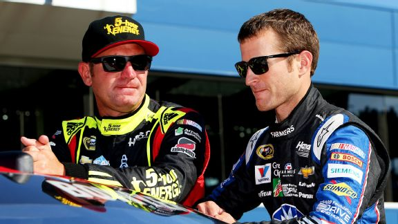 Clint Bowyer and Kasey Kahne