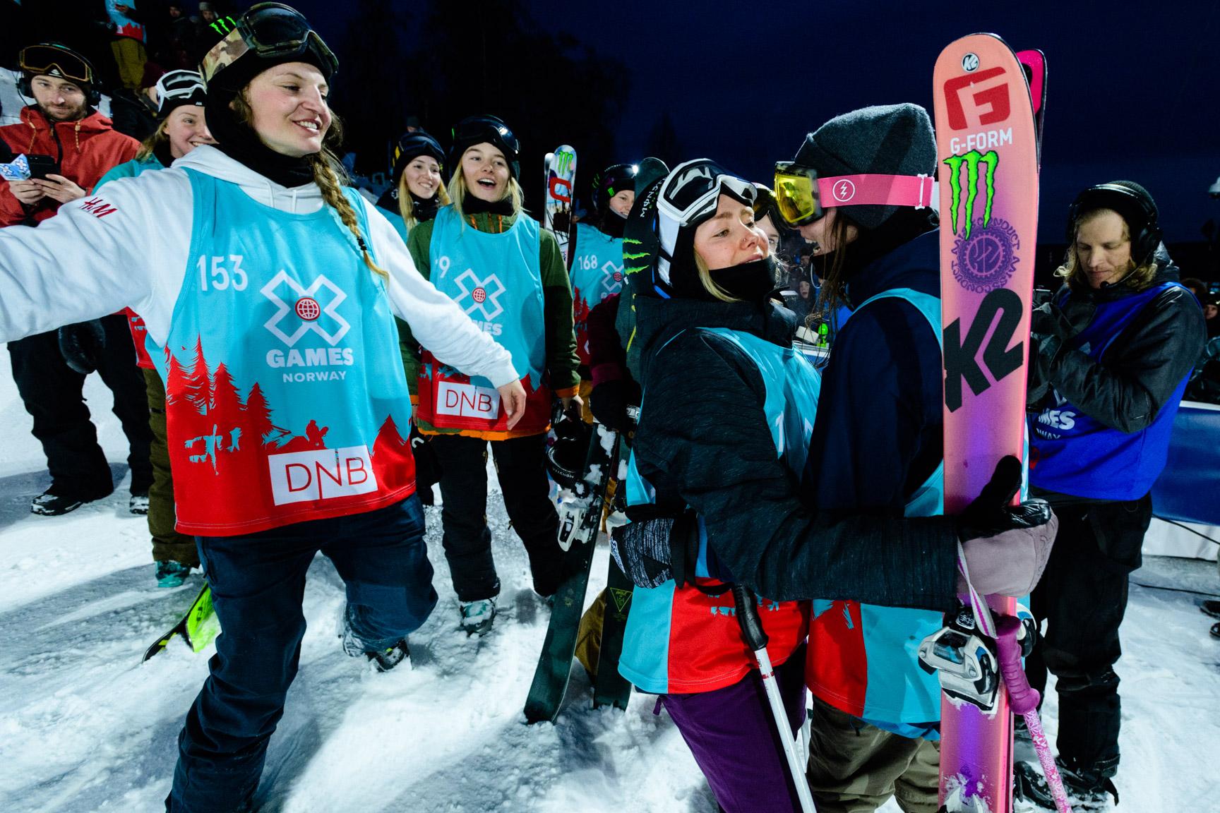 Dahlström, Voisin, Gremaud, Women's Ski Big Air