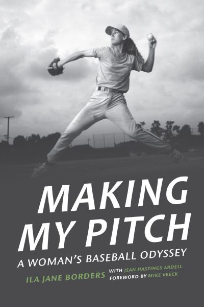 Borders' memoir, Making My Pitch, releases on Saturday.
